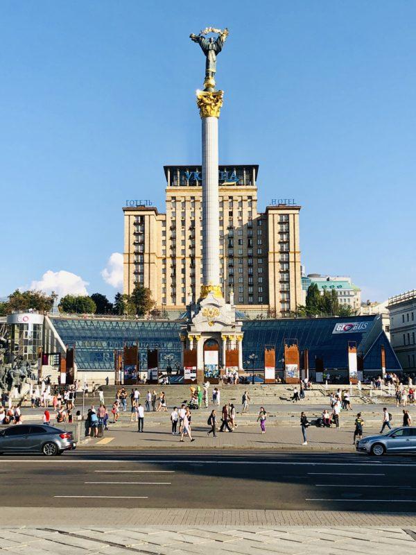 Co robić w Kijowie? Zobaczyć Majdan Niezależności.