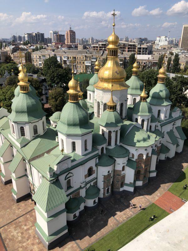 Co robić w Kijowie? Sobór Mądrości Bożej