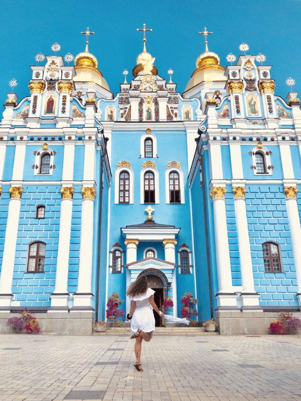 Co robić w Kijowie? Monaster św. Michała Archanioła o Złotych Kopułach