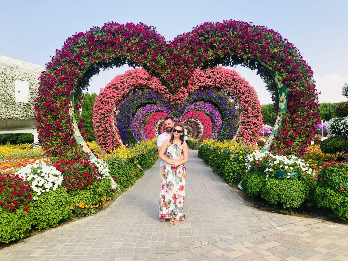Top 5 atrakcji Dubaju - Miracle Garden
